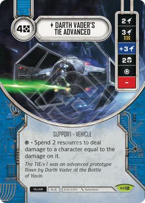Darth Vader's TIE Advanced