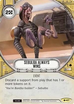 Sebulba Always Wins