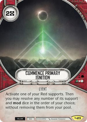 Commence Primary Ignition