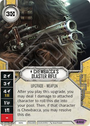 Chewbacca's Blaster Rifle